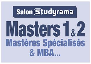 Salon Studyrama des masters 1 et 2